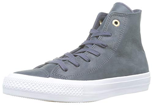 adidas Chuck Taylor All Star II Craft High, Zapatillas de Baloncesto Mujer, Gris Dolphinwhite, 37.5 EU