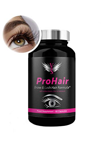 Biotin Tablets for Hair Growth, Hair Loss Prevention and Thicker, Fuller Hair, Brows and Lashes. 2 Month Supply