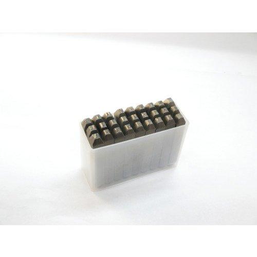 TRUSCO 逆英字刻印セット2.5mm