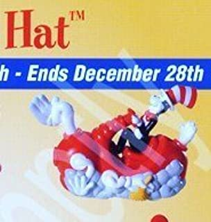 Burger King Kids Meal Cat in the Hat Movie Cat's Cleaning Contraption Vehicle Toy 2003