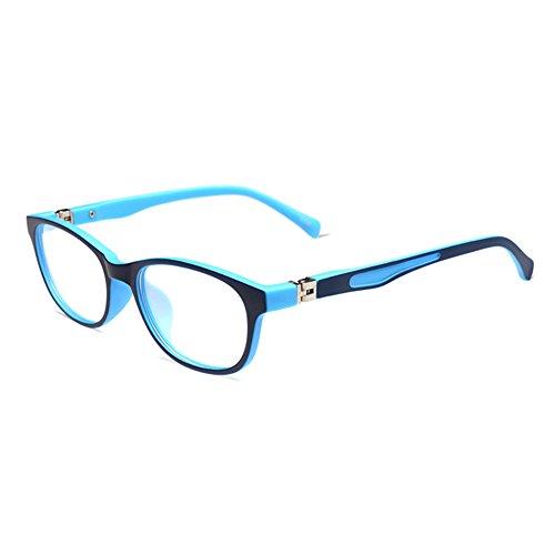 Juleya Juleya Kinder Gläser Rahmen - TR90 Ultraleicht - Kinder Brillen Clear Lens Retro Reading Eyewear für Mädchen Jungen