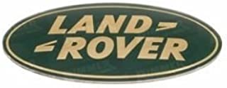 GENUINE  DAG100330 LAND ROVER RANGE ROVER P38 GRILLE BADGE GOLD ON GREEN