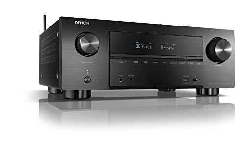 Denon AVR-X3600H 9.2-Kanal AV-Receiver, Hifi Verstärker, Alexa Kompatibel, 8 HDMI Eingänge und 3 Ausgänge, Bluetooth und WLAN, Musikstreaming, Dolby Atmos, AirPlay 2, HEOS Multiroom
