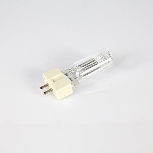 Showking Halogenlampe 230V / 1000W / Sockel GX - 9,5 / 3200K / weiß - Ersatz - Leuchtmittel für Verfolgerspots
