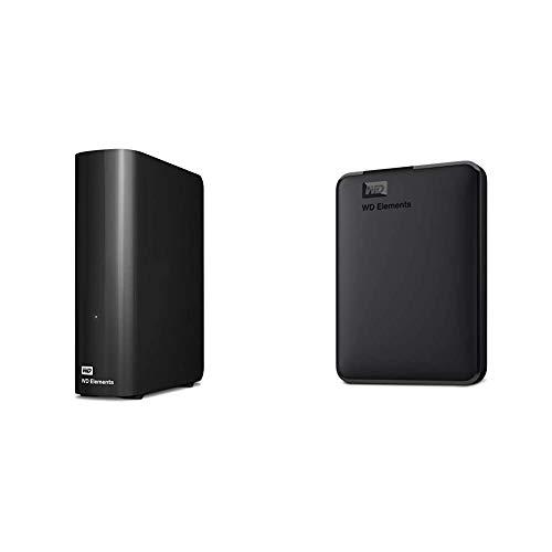 WD 6TB Elements Desktop Hard Drive, USB 3.0 -...