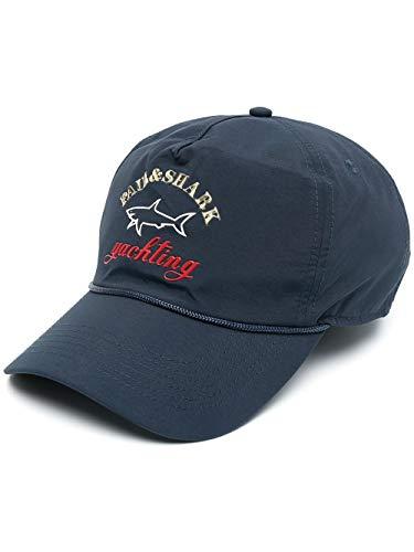 PAUL & SHARK 21417114-05 Embroidered-Logo cap azul marino...