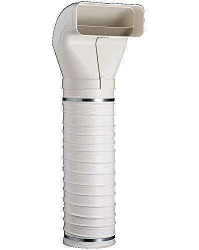Unbekannt Flachkanal Abluftsystem optimAiro Umlenkstück mit 1,0 m Flexschlauch 222 x 89 mm *562596