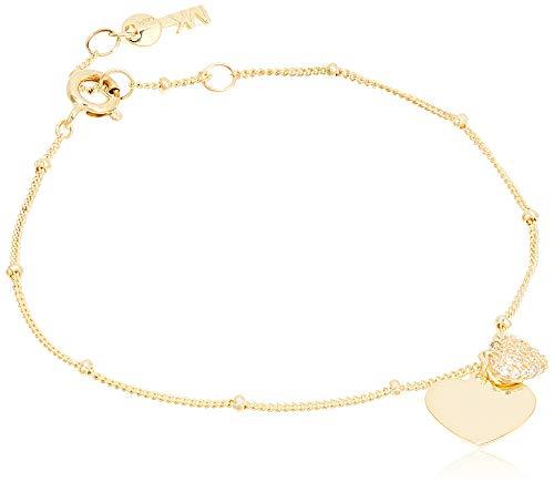 Michael Kors MKC1118AN710 Damen Armband Silber 925 Gold weiß Zirkonia 18 cm