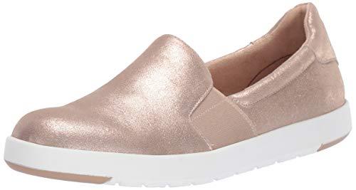 Aerosoles Women's Call Back Shoe, Gold Suede, 9 M US