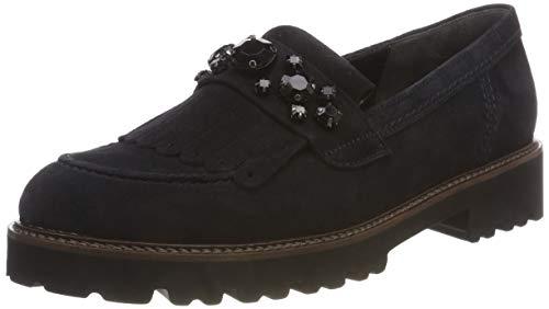 Gabor Shoes Damen Fashion Slipper, Blau (Pazifik (Cognac) 16), 40 EU
