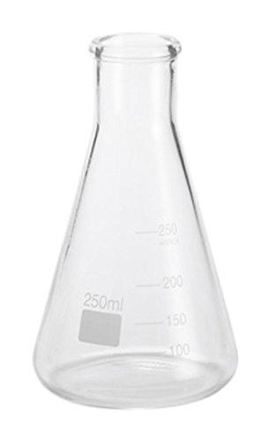American Metalcraft GF8 Glass Chemistry Flask, 8 1/2-Ounces
