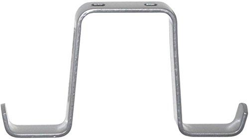 Element System 18133-00117 Fahrradhalter/Fahrrad-Deckenhaken / 2 Stück/H x T = 85 x 160 mm/weißaluminium