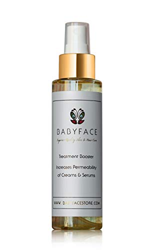 Babyface Treatment Booster w/Matrixyl 3000, MAP Vitamin C, Bearberry Boosts Potency of Beauty Cream and Serum