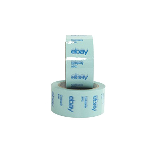 Blue Official eBay Branded BOPP Packaging Tape Shipping Supplies (2 Pack)