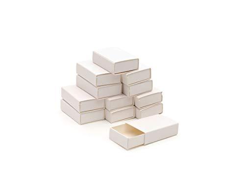 Graine Créative Schachteln Streichholzschachtel Kleine Dose Leer 5cm 12 Stück