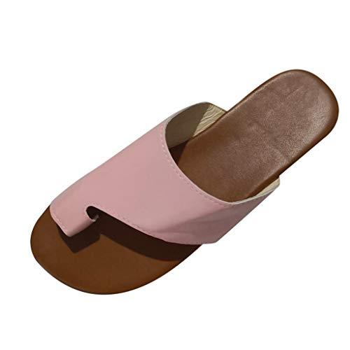 Jodier Sandalias Mujer Verano 2019 con Plataforma Sandalias Correctoras Juanetes Reduce El Dolor En El Juanete Causado por La Fricción del Dedo del Pie Femenino Zapatos de Playa