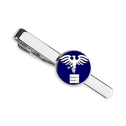 Who Keep America USA Eagle Corbata Clip Bar Regalo Hombre de Negocios