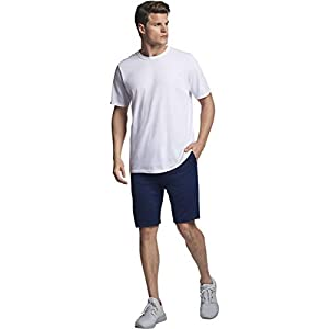 Russell Athletic Men's Essential Short Sleeve Tee, White, XXL