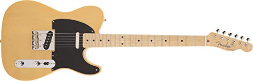 Fender エレキギター Made in Japan Traditional 50s Telecaster®, Maple Fingerboard, Butterscotch Blonde