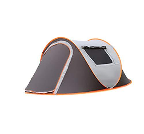 LEJZH Camping Familie Tent, Automatische Instant Pop Up Tenten met Lichtgewicht Draagtas 3 Person Speed Open Tenten voor Outdoor Camping Wandelen Vissen