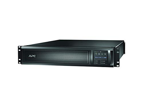 APC Network UPS, 2200VA Smart-UPS Sine Wave UPS with Extended Run Option, SMX2200RMLV2U, 2U Rackmount/Tower Convertible, Line-Interactive, 120V