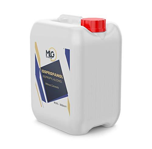 Garrafa Alcohol Isopropílico 99,9% 5 Litros | IPA de Limpieza | Ideal para limpieza para componentes electrónicos | 5000ml