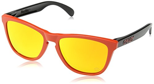 Oakley Herren 9013 Sonnenbrille, Heritage Red, 55 mm