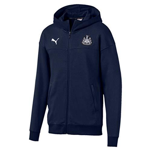 Puma Newcastle United Lifestyle 19/20 - Sudadera con capucha y cremallera completa
