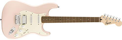 Squier by Fender Bullet Hard Tail Stratocaster HSS - Laurel Fingerboard - Shell Pink