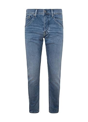 Pepe Jeans Herren Straight Jeans Pepe Jeans, Blau (GYMDIGO LIGHT USED 000), W32/L32