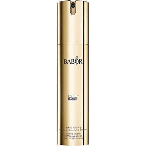 BABOR HSR Extra Firming Neck & Decolleté Cream, straffende Intensivpflege für Hals und Dekolleté, auch gegen Altersflecken, 1 x 50 ml