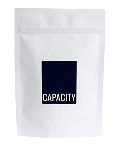 CAPACITY Caffeine Tablets 200mg (100 Tablets) - Perfect for Pre-Workout and Weight Loss