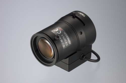 Tamron 13VG1040ASIR Lente de cámara - Objetivo (CCTV Camera, Manual, 1.4-360, -20-60 °C, Negro, 89g)