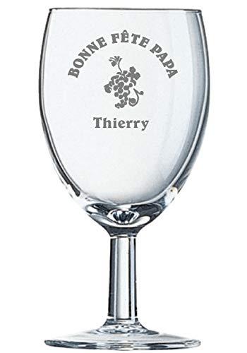 Arcoroc, Savoie, gravure op wijnglas, 35 cl, personaliseerbaar met tekst en logo's (600 logo's naar keuze)