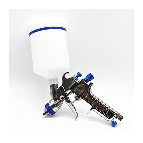 pistola de pintura en aerosol Spray Gun1.5mm Boquilla Profesional Pistola de pulverización Máquina de pulverización Pintura Mini pistola de rociado, usado para pintar herramientas aéreas de automóvile