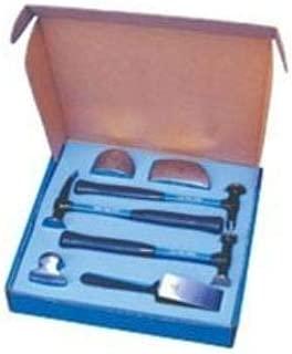 Martin 647KALFG Auto Body Hammer Dolly Aluminum Ford Certified 7 Piece Set