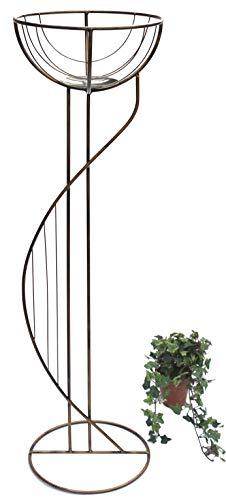 DanDiBo Blumensäule Metall 115 cm Blumenständer 10-0382 Pflanzenständer Blumenkorb Blumenregal Blumenhocker
