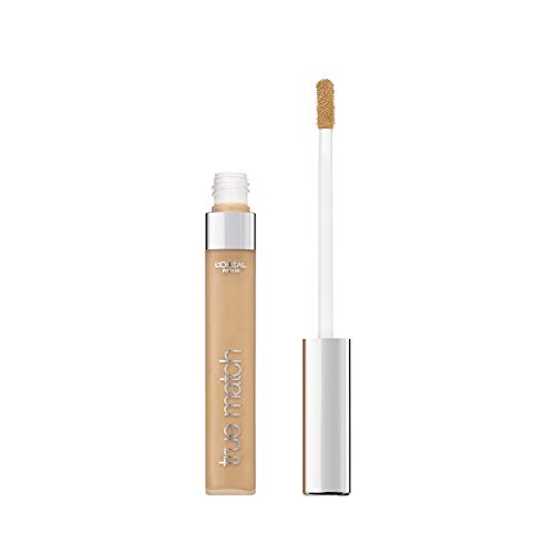 L'Oréal Paris MakeUp Correttore Liquido Accord Parfait, Correttore Viso, Occhi e Imperfezioni Liquido, 6D/W Miel Doré, Confezione da 1