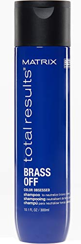 Matrix Champú Brass Off neutralizador de cabellos castaños, 300 ml ✅