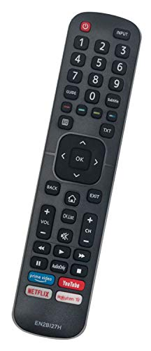 ALLIMITY EN2BI27H Telecomando Sostituisci per Hisense LED 4K Smart TV H43B7120 H43B7500 H65B7500 H75B7510 H55B7300 H65B7300 H43B7100 H65B7100 H43BE7400