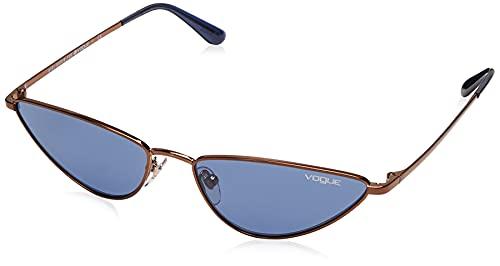 Ray-Ban 0VO4138S Occhiali da Sole, Grigio (Copper), 56 Donna