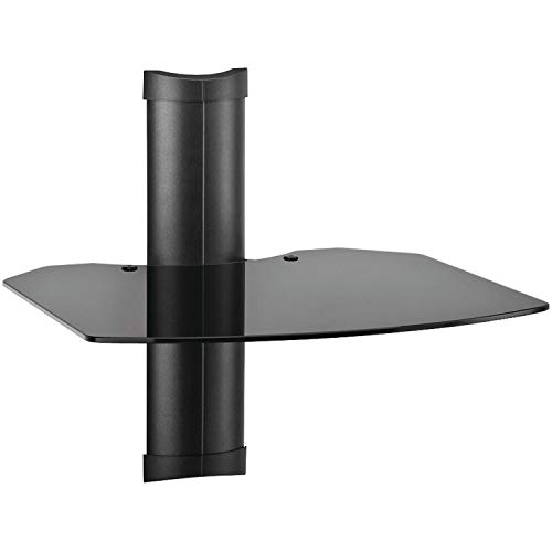 OMNIMOUNT TRIA 1 TRIA1B 1-Shelf Wall Furniture System (Black)