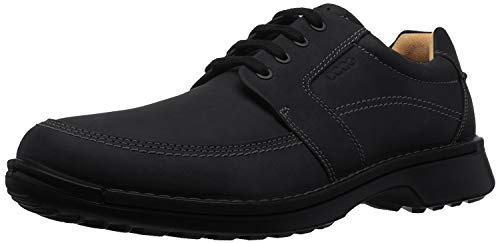 ECCO Men's Fusion II Tie Oxford, Black, 42 EU/8-8.5 M US