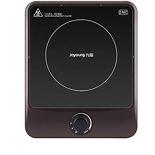 Portátil eléctrica Placa de inducción Placa de calefacción única para cocinar circuitos portátiles, cocina de inducción 2100W, alta eficiencia y ahorro de energía, calefacción rápida