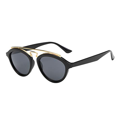 Morran Gafas De Sol Polarizadas Mujer Espejo Marca Clásico Metal MarcoProtección,Adecuado para deportes al aire libre simples, ropa de mujer, simple y moderno, muy adecuado para ropa a juego.