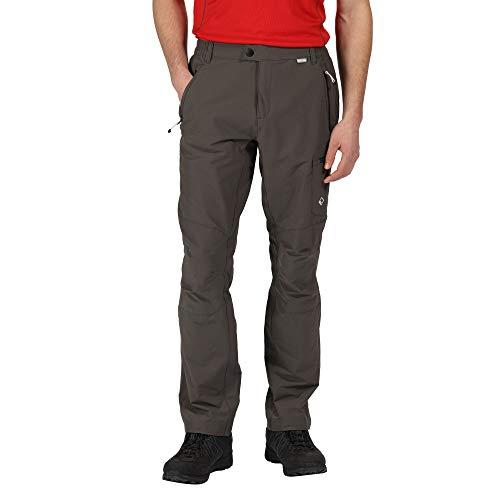 Regatta Pantalon Technique Stretch Highton avec Poches Multiples - Régulier Trousers Homme Magnet FR: XL (Taille Fabricant: 36\
