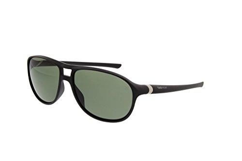 Tag Heuer URBAN TH6043 301 - Gafas de sol deportivas para hombre, color negro y verde puro