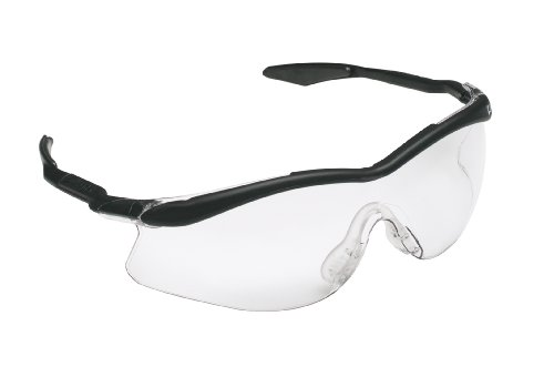 3M Safety Glasses, QX 3000, ANSI Z87, Clear Lens, Black Sport Grip Frame