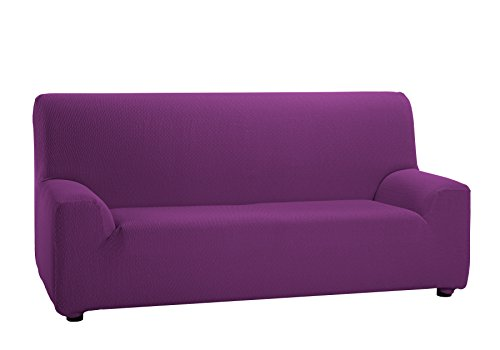 Martina Home Tunez - Funda elástica para sofá, Cardenal, 3 Plazas (180-240 cm)