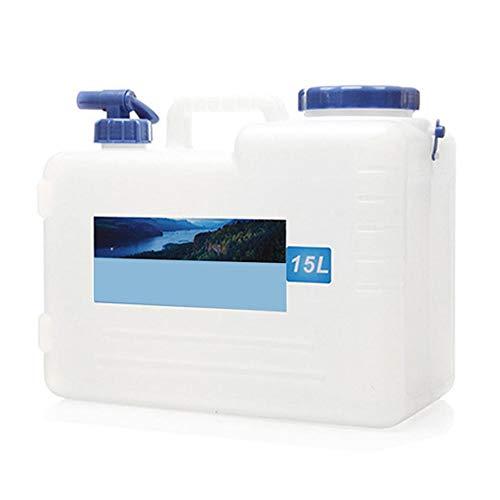 Hete-supply Wasservorratsbehälter mit Zapfhahn Tragbare Camping-Aufbewahrungseimer Outdoor-Reiseeimer Perfekt sicheres Trinken Auto Trinkwasserfass